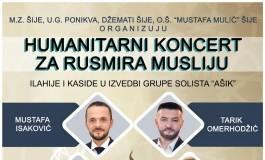 Mjesna zajednica Šije organizuje humanitarni koncert za Rusmira Musliju